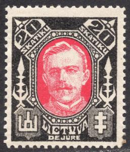 LITHUANIA SCOTT 116