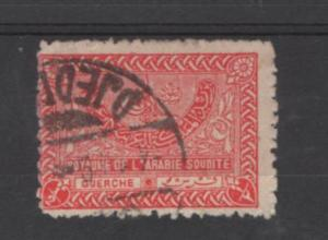 Saudi Arabia   Scott#  161   used