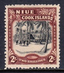 Niue - Scott #84 - MLH - SCV $8.50