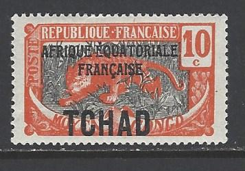 Chad Sc # 26 mint hinged (RS)