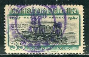 Costa Rica; 1947: Sc. # C159: O/Used Cpl. Set