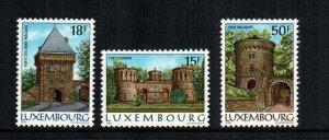 Luxembourg  753 - 755  MNH cat $ 5.80