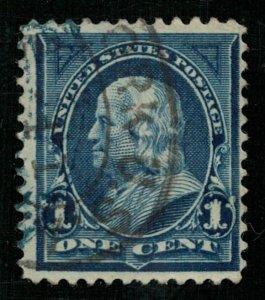 Benjamin Franklin (1706-1790), United States, 1894, (3233-Т)