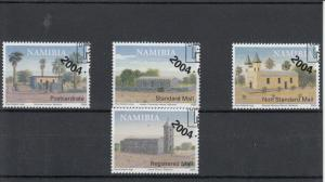 Namibia 2004 CTO Historical Buildings of Bethanie SG#974-7 4v House Church Used