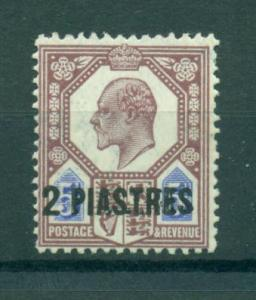 Great Britain Offices in Turkey sc# 14 (2) mh cat value $32.50