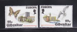 Gibraltar 483-484 Set MNH Europa (A)