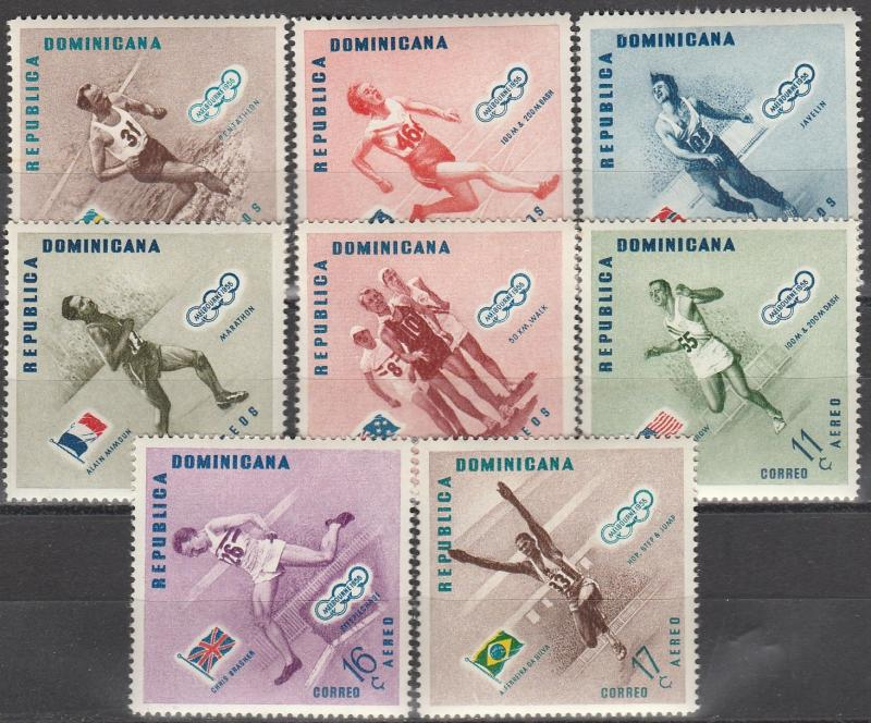 Dominican Republic #479-83, C100-02  MNH   (S2303)
