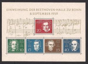 GERMANY SC# 804 F-VF MNH 1959