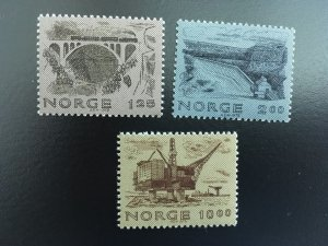 Norway 1979 #750-2 MNH. Industry, engineering