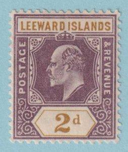 LEEWARD ISLANDS 22 MINT HINGED OG *  NO FAULTS EXTRA FINE