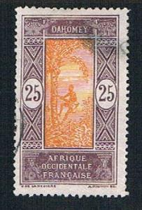 Dahomey 55 Used Man climbing Oil Palm (BP09917)