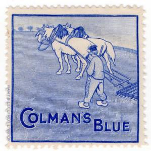 (I.B) Cinderella Collection : Colmans of Norwich (Blue)