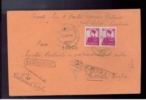 1943 Dolj Romania Jewish Labor Camp Cover to Red Cross