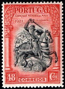 PORTUGAL STAMP 1927 Liberation Issue MH/OG STAMP 48C