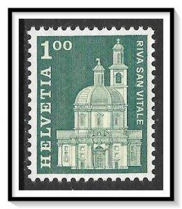 Switzerland #447 Santa Croce Church MNH