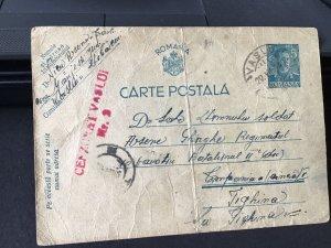 Romania 1942 postal stamps card Ref R28867