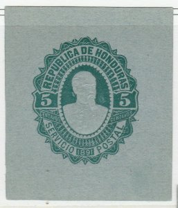 Honduras Postal Stationery Cut Out A17P4F86