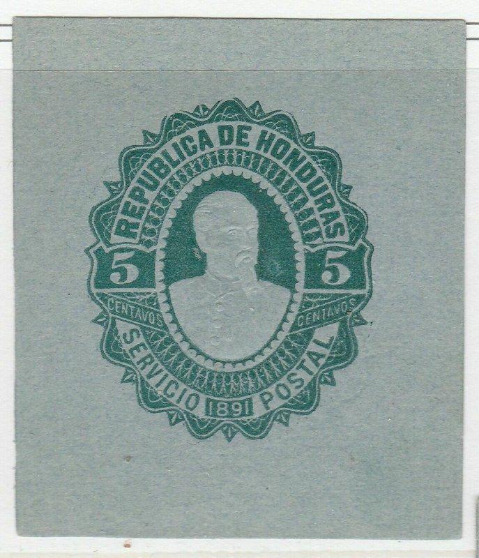 Honduras Postal Stationery Cut Out A17P4F86