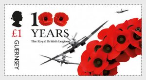 2021 Guernsey Royal British Legion I (Scott NA) MNH