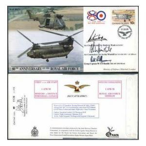 JS(CC)47h 80th Ann - Support Helicopters Signed Cover