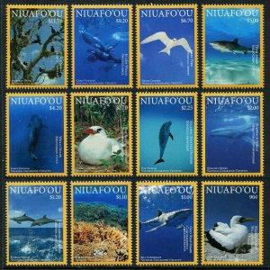 HERRICKSTAMP NEW ISSUES NIUAFO'OU Sc.# 347-58 Marine Life 2016