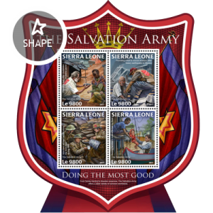 SIERRA LEONE - 2017 - The Salvation Army - Perf 4v Sheet - MNH