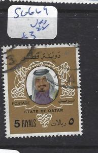 QATAR  (P3112B)  SG 669   VFU