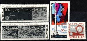 Russia #3273-6  MNH CV $3.25 (X25)