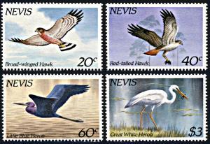 Nevis 403-406, MNH, Birds