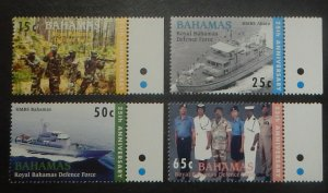 Bahamas 1135-38. 2005 Royal Bahamas Defense Force, NH
