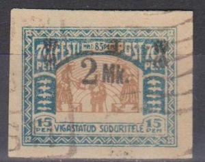 Estonia #B4 F-VF Used (ST153)