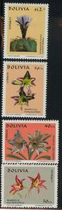 Bolivia 534-537 Mint VF H