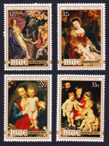 Niue Christmas 4v 1977 MNH SG#219-222 SC#199-202