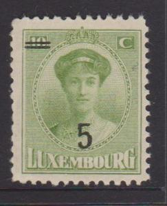 Luxembourg Sc#154 MNH