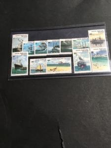 Cocos Islands Sc. #20-31 Complete Mint F+-VF NH 2016 Cat. $6.95 Ships 1976 (12)