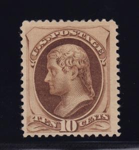 188 F-VF scarce original gum with with PSE cert rich color cv $ 1850 ! see pic !