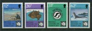 British Antarctic Territory Scott 180-83 1991 Antarctic Treaty Mint NH