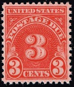 US STAMP #J82 – 1931 3c POSTAGE DUE STAMP MNH/OG