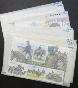 EDW1949SELL : IRELAND Nice collection of Diff Modern S/S & Bklts. VF MNH Cat $84