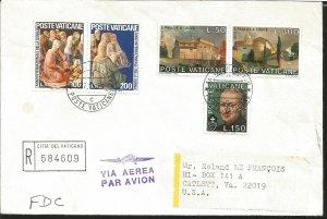 J) 1975 VATICAN CITY, BASILICA OF STS. JOHN AND PAUL AND BURIAL CHAPEL OF SAINT.