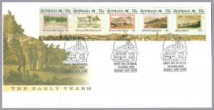Australia - Early Years Strip of 5 - Sc 1031 - FDC - $1.50 shipping on this item