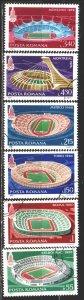 Romania. 1979. 3625-30. Olympic stadiums. USED.