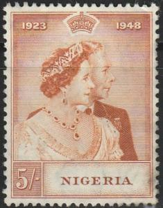 Nigeria, #74 MNG From 1948