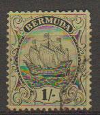 Bermuda SG 87a   fine - very fine used see description details