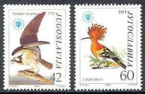 1985 Yugoslavia 2100-2101 Nature protection 4,50 €