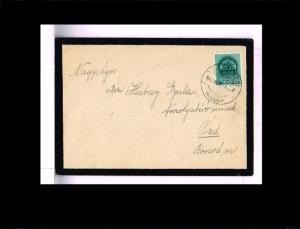 1940 - Hungary Cover - Enclosed card [B07_092]