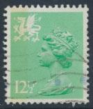 Great Britain Wales  SG W37 SC# WMMH19 Used 12½p Machin see scan