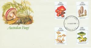 AUSTRALIA 1981 AUSTRALIAN FUNGUS FIRST DAY COVER