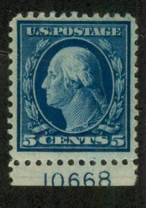 U.S. -  504 - Plate Number Single (10668) - Very Fine - Hinged