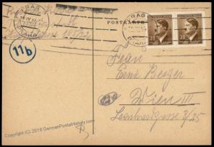 3rd Reich Germany Theresienstadt Concentration Camp Cover 71109